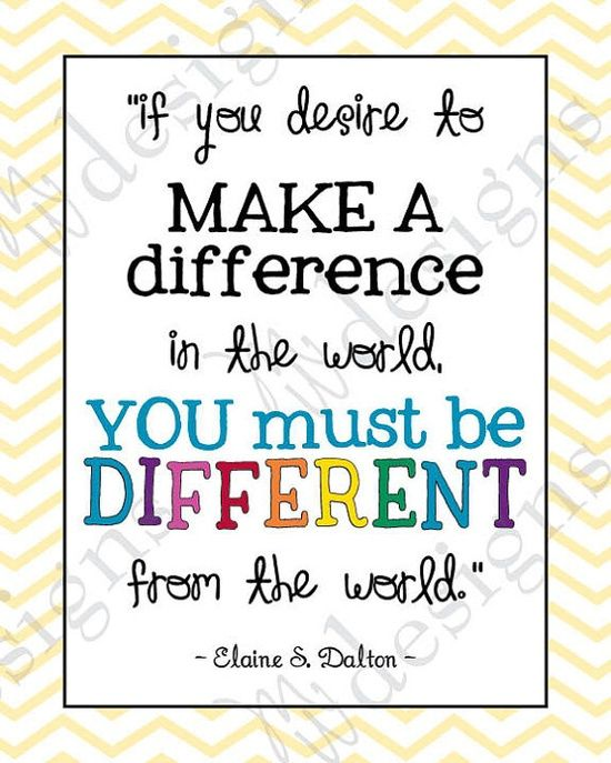 Make a difference: Elaine Dalton