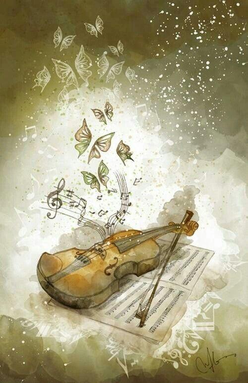 ♡saca la melodia que llevas dentro de ti .... violin mi mundo☺