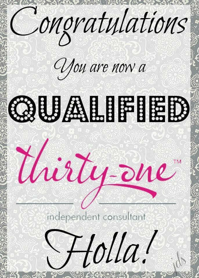 Qualified consultant! | Thirty-One Consultant-Inspiring ...