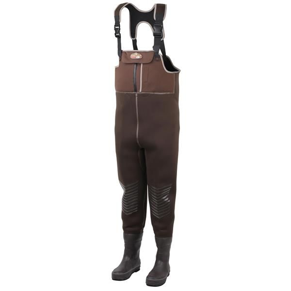 Scierra Tundra Seal Neoprene Waders are a great pair of neoprene chest waders with lots of innovative features. #scierra #waders #wading #fishing #flyfishing