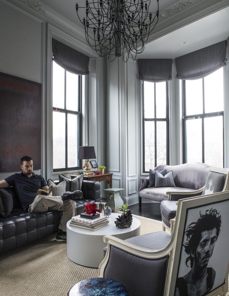 With A Little Help From A Friend Home Grey Living Rooms