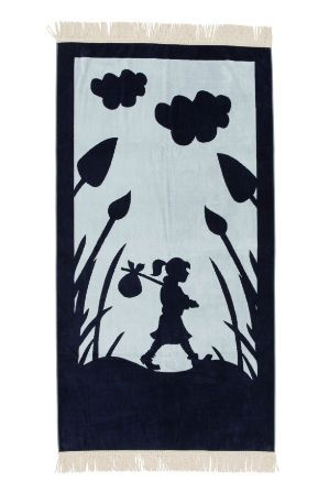 Karen Walker Home - Runaway Girl Beach Towel in blue (Myer)