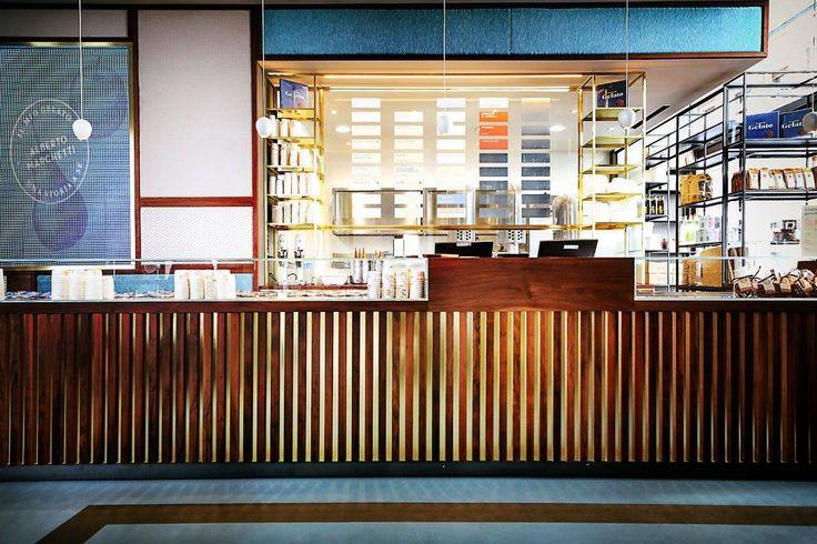 Casa Marchetti a Torino, una maison del gelato su due piani | design | retail | maestri gelatieri