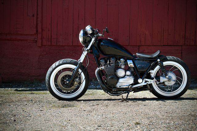 1982 Yamaha Maxim XJ650 Bobber  Classic Motorcycle.