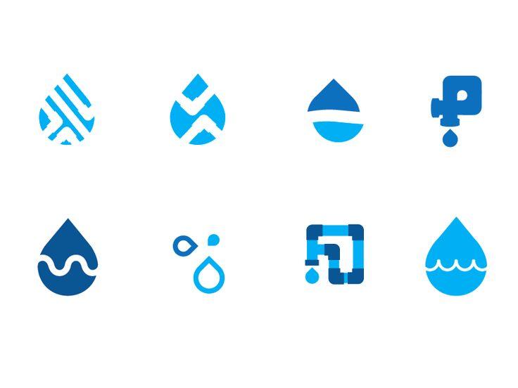 Anne Ulku - water pipe icon logos