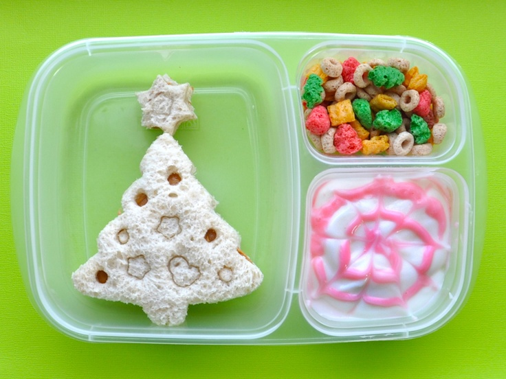 Healthy Lunch Snack Ideas  Christmas Cutout Cookies