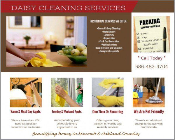 #RESIDENTIAL #CLEANING #SERVICES Home Services - #SterlingHeights, MI at #Geebo