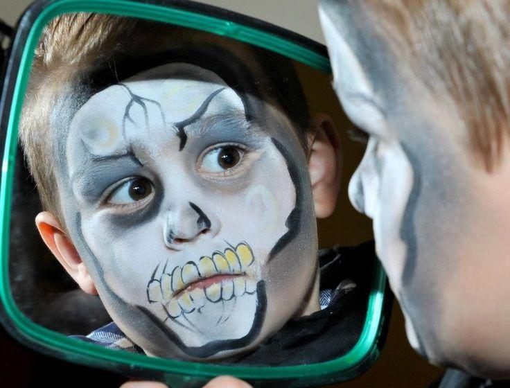 Eerie Halloween Faces