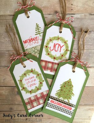 In My Creative Opinion: 25 Days of Christmas Tags - Day 21