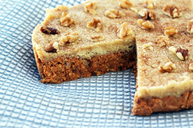 The Healthy Ingredient — Raw Organic Carrot Cake