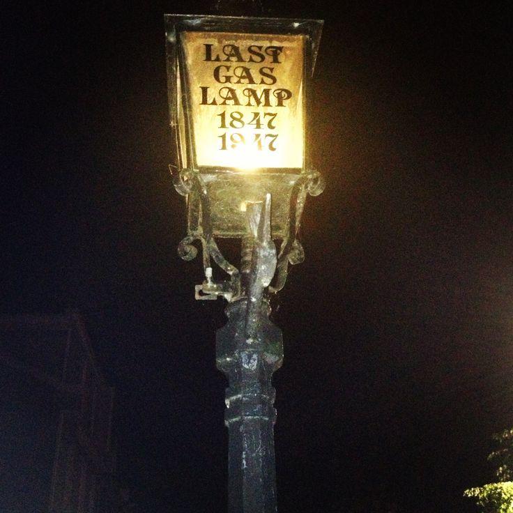 Oil lamp in Kingston Ontario