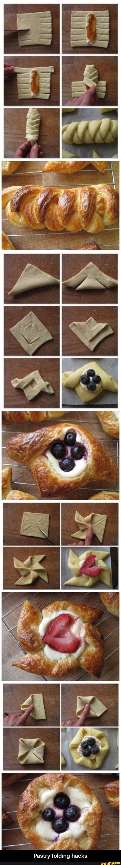 Pastry folding hacks