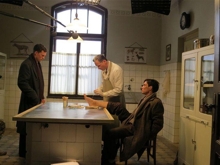 *New Still* of Jamie Dornan as 'Jan Kubis' from the movie Anthropoid. http://www.everythingjamiedornan.com/gallery/thumbnails.php?album=67 https://www.facebook.com/everythingjamiedornan/?fref=ts
