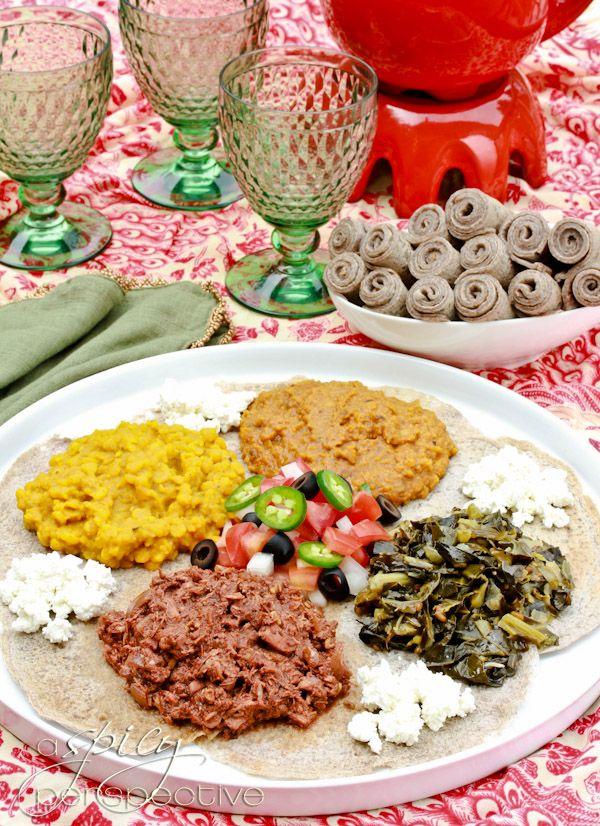 Easy ethiopian injera recipe