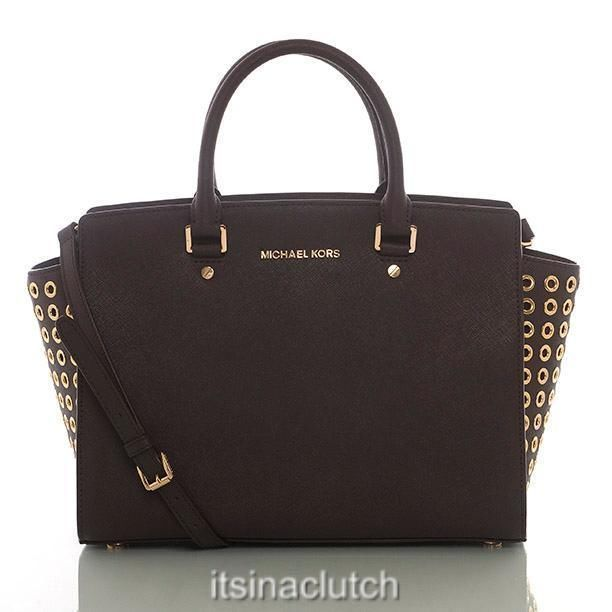 The Michael Kors Selma is a winner in any color! NWT AUTH MICHAEL KORS  COFFEE