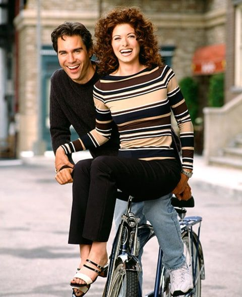 Image result for debra messing will and grace