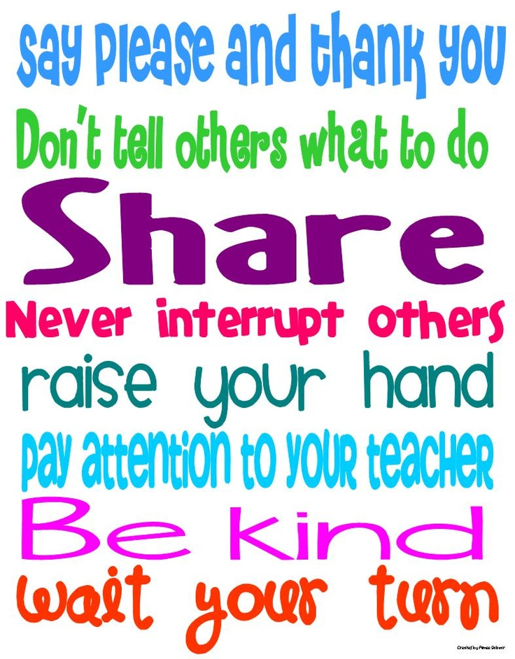 manners in the classroom post, plus a freebie!