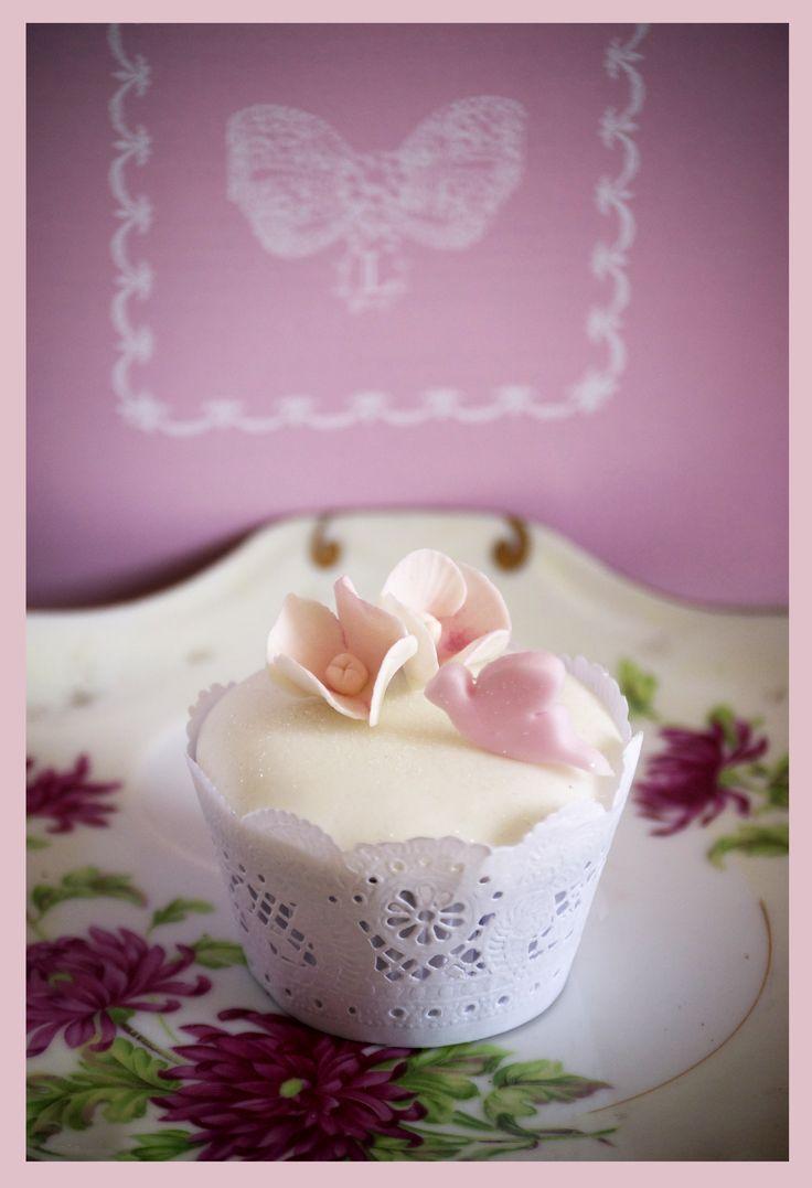 Cupcakes ideal para bautizo o primera comunión.