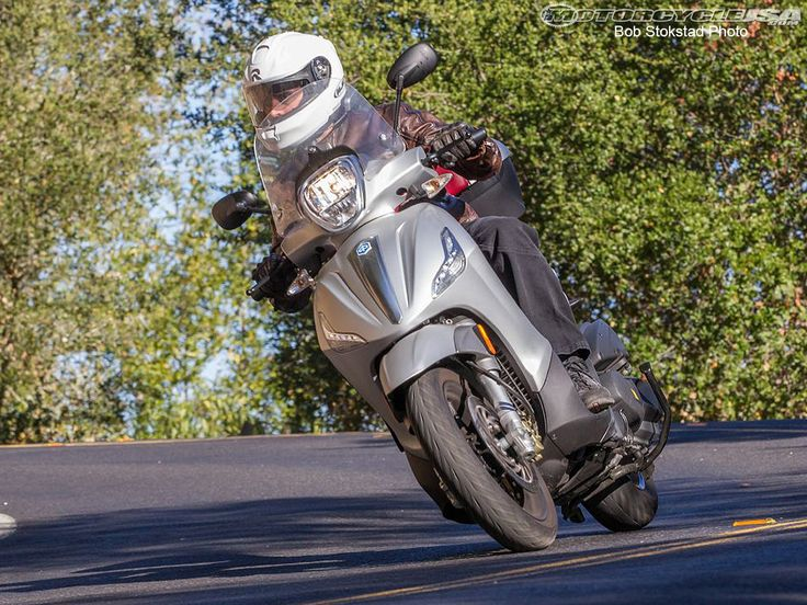 See the 2013 Piaggio BV 350 in action in the 2013 Piaggio BV 350 Review photo…