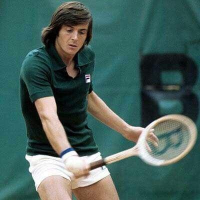 Adriano Panatta Björn Borg a Roland Garros 1976.