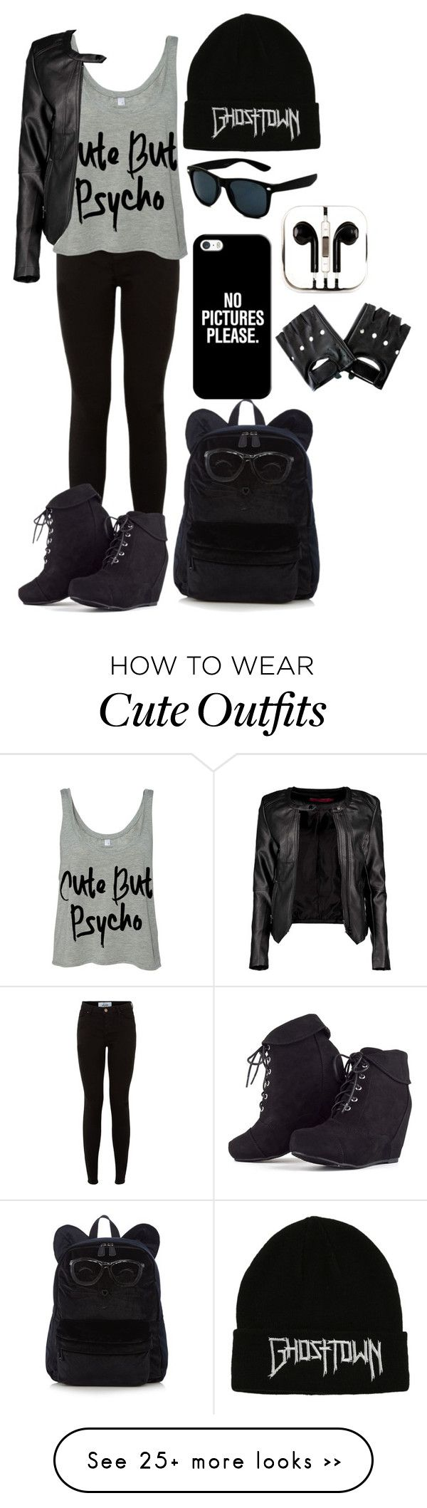 """""""Idek"""" by xxkmtmxx on Polyvore featuring Boohoo, PhunkeeTree and Casetify"""