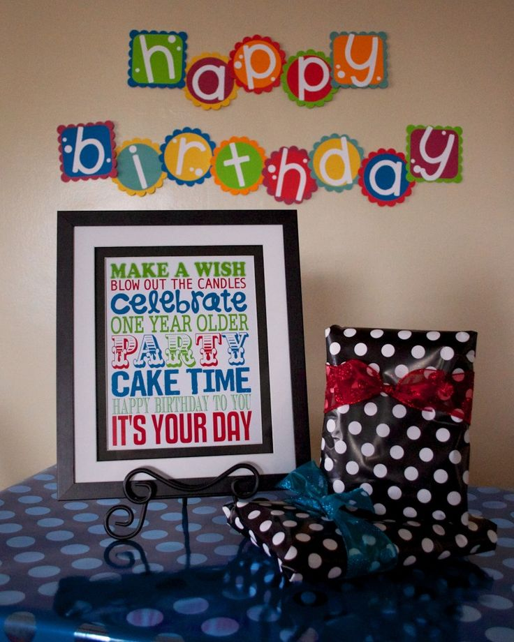 Free Birthday Subway Art Printable!