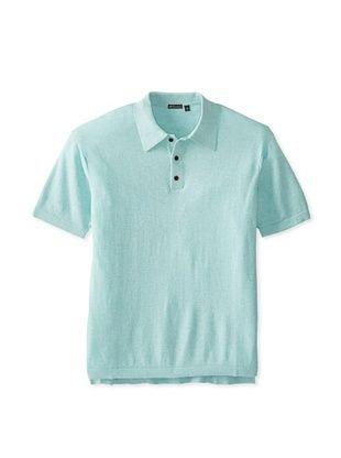 63% OFF Thaddeus Men's Paolo Short Sleeve Knit (Mint)