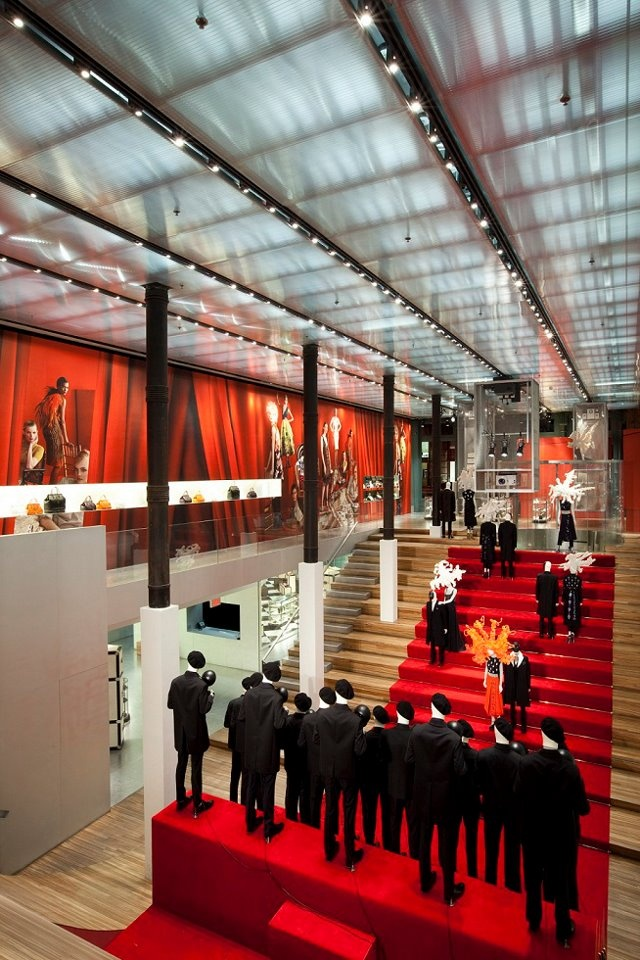 987e90fa1f17 17 Best images about Interior  Prada Flagship Store New York on Pinterest