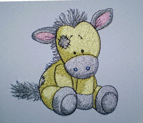 Horse Bobbin Machine Embroidery Design By