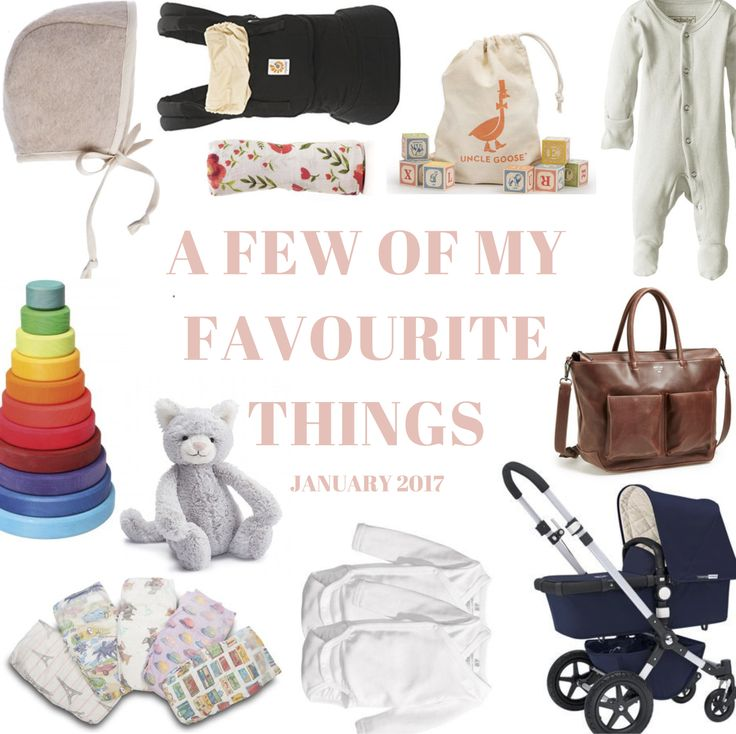 A FEW OF MY FAVOURITE THINGS : JANUARY 2017