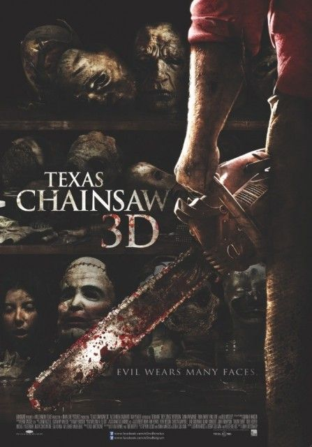 Texas Chainsaw 3D Movie Poster #4 - Internet Movie Poster Awards Gallery