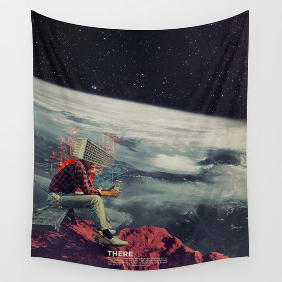 Figuring Out Ways To Escape Wall Tapestry in Society6