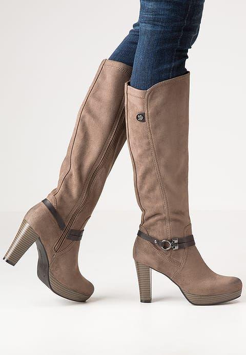 Mit diesen hübschen Stiefeln bist du glücklich. TOM TAILOR DENIM Plateaustiefel - mud für 79,95 € (24.11.16) versandkostenfrei bei Zalando bestellen.