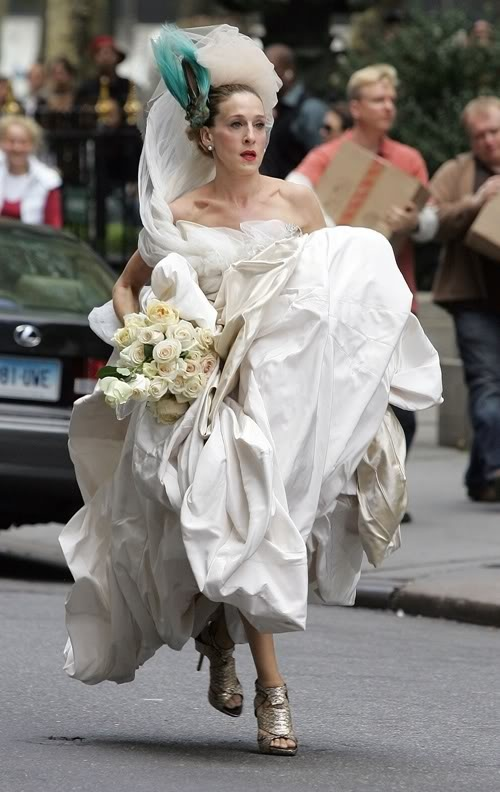 Carrie Bradshaw Vivienne Westwood This Is A Great Photo Lol I Love It