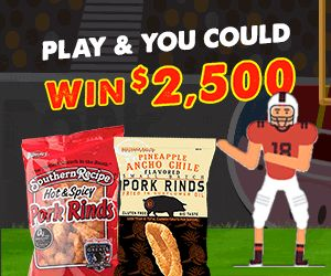 #Win $2,500 AND help us support Gridiron Greats Assistance Fund when you dance like you mean it! Learn more when you click the pin! . . . #Snacks #Protein #TravelSnacks #Recipes #Recipe #PorkRind #PorkRinds #Delicious #foodie #PorkRindAppreciationDay #GridironGroovin #Touchdown #Contest #Win #Football #SuperBowl #BigGame