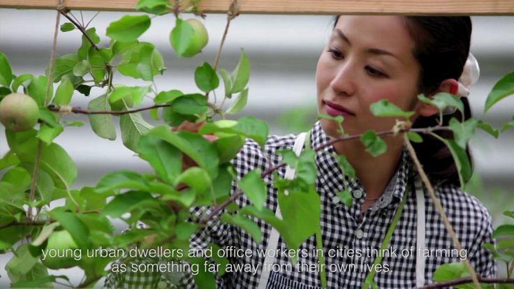 Urban Farming in Tokyo - Pasona HQ