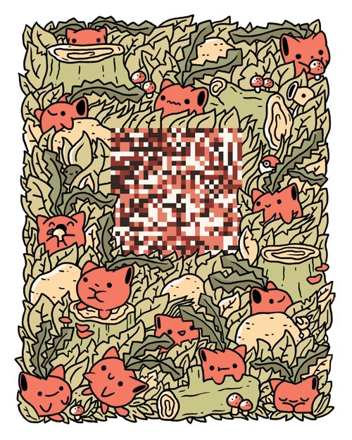 It's a wild Missingno! (Glitch theme by Jake Lawrence for Pokézine. Posted October 1, 2014 | via Tumblr) #Pokemon