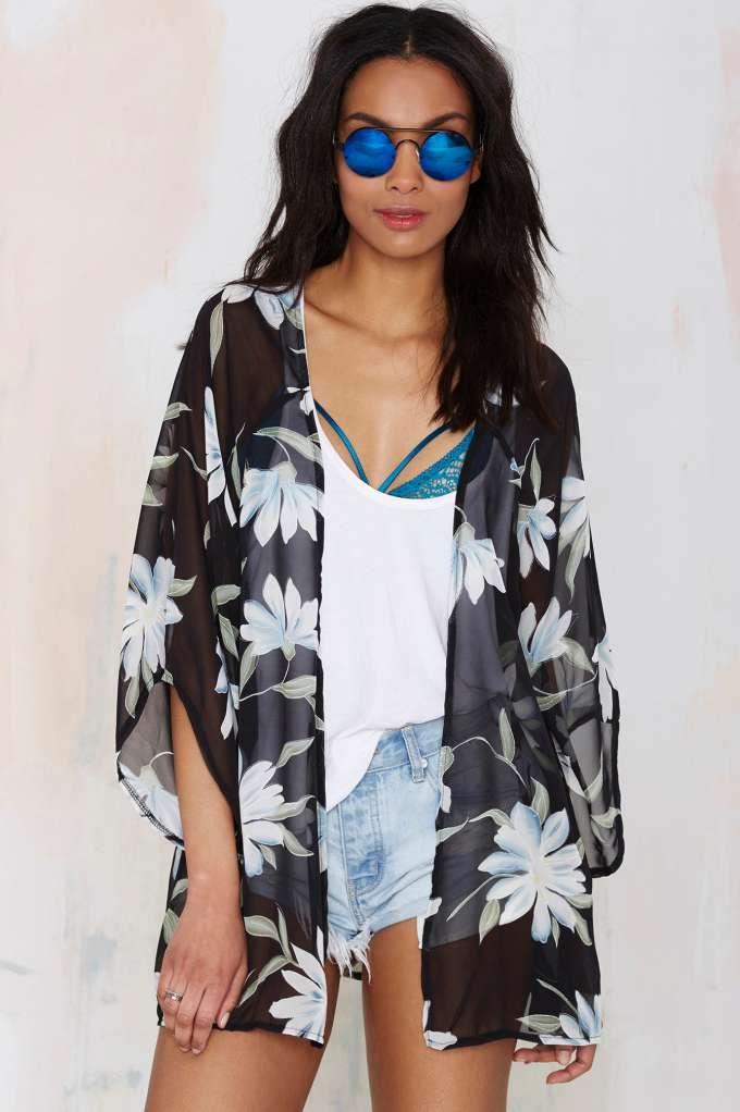 Glamorous Isadora Chiffon Kimono - Kimono | Clothes | All | Bohemian Rhapsody
