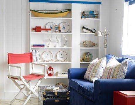Nautical Nordic Decor Style in a Newfoundland Seaside Cottage