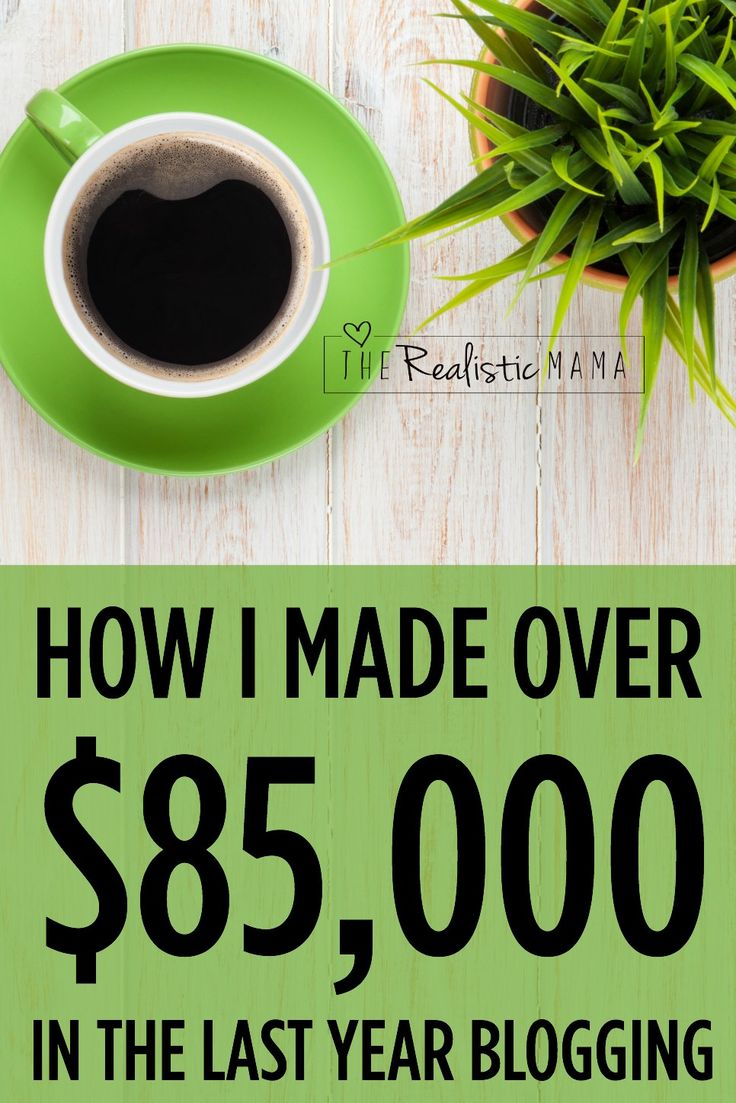 How I made over $85,000 in the last year blogging