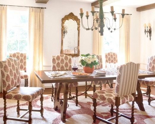 Kathryn Ireland Dining Room ChairsTable