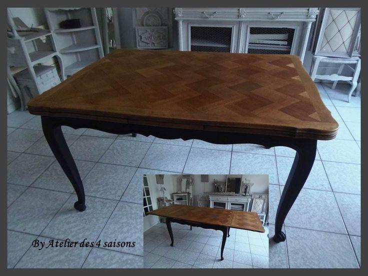 les 25 meilleures id es de la cat gorie table avec rallonge sur pinterest table teck table. Black Bedroom Furniture Sets. Home Design Ideas