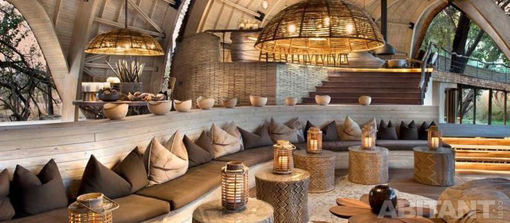 Сафари-лодж в Ботсване. Бескомпромиссный комфорт посреди дикой пироды.