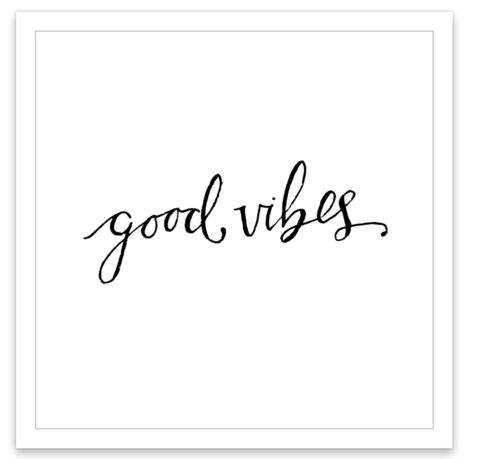Good Vibes - INKED by dani temporary tattoos