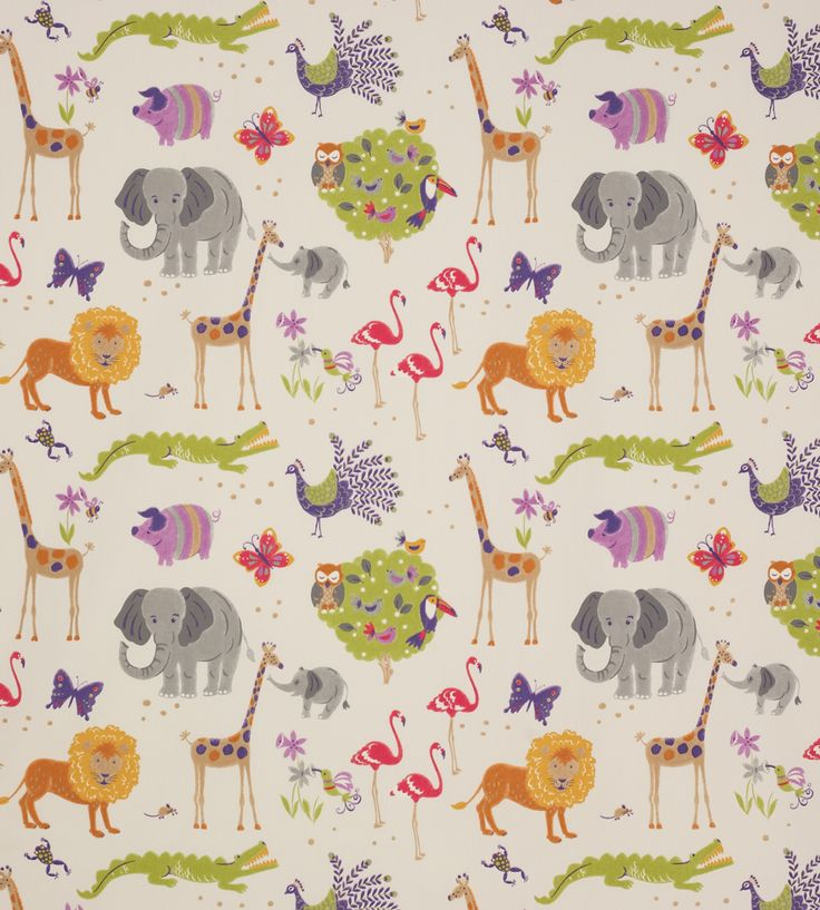 How To Style | Nurseries | Wild Things Fabric by Jane Churchill | Jane Clayton