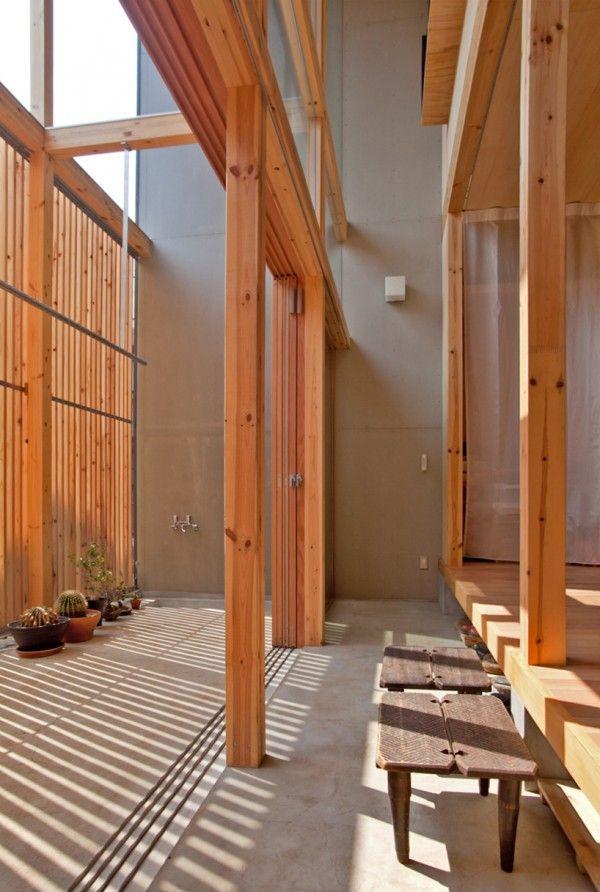 Japanese Home Design Entrance