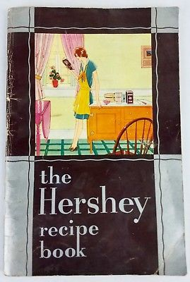 1930 Hershey Cocoa Recipe Cook Book 235 Good Things from Chocolate Vintage PB