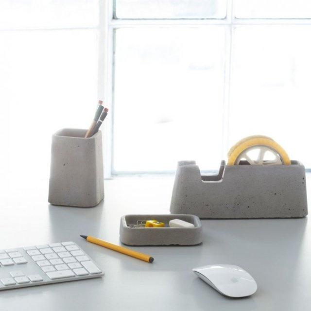 Concrete Desk Accessories, Design: Magnus Pettersen