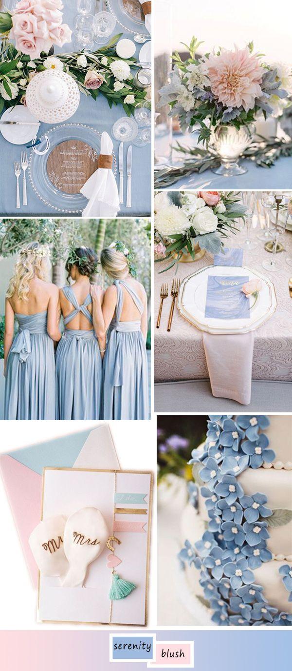 Top 5 Perfect Shades Of Blue Wedding Color Ideas For 2017 Elegantweddinginvites Com Blog Spring Wedding Colors Wedding Theme Colors Wedding Colors
