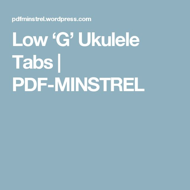 My Chemical Romance Violin Sheet Music Easy: Best 25+ Ukulele Tabs Ideas On Pinterest